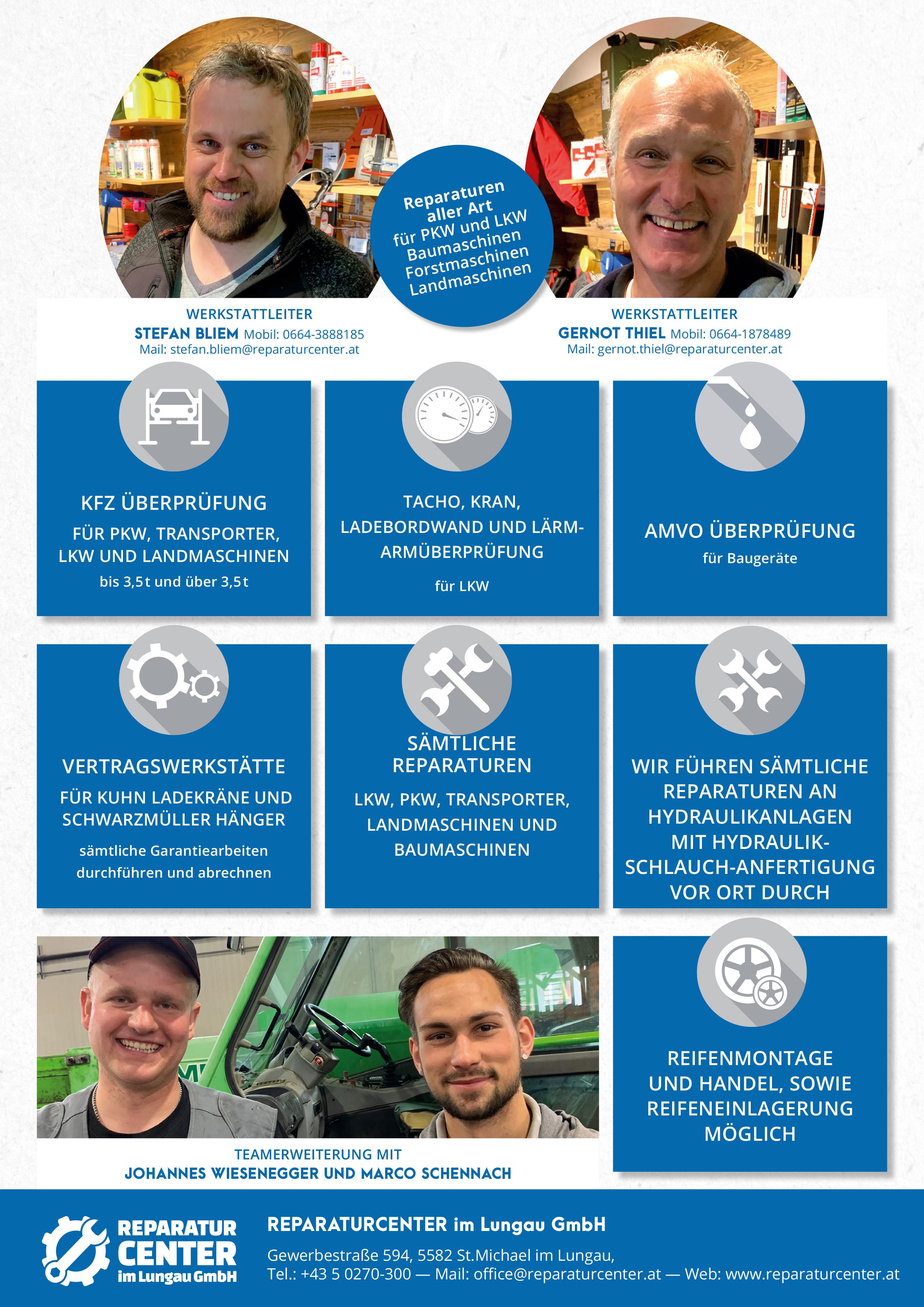 Reparaturcenter Lungau GmbH